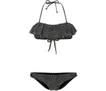 Bikini 'PW Frill Bikini' anthrazit