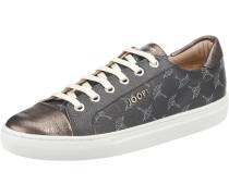 Sneakers 'Coralie' basaltgrau / weiß