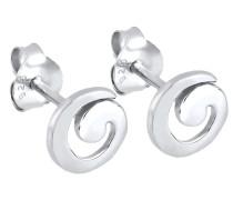 Ohrringe 'Spirale' silber