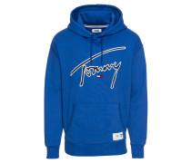 Hoodie 'Tommy Signature Hoody' blau