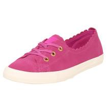 Sneaker fuchsia / weiß