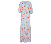 Kleid hellblau / mischfarben