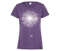 T-Shirt 'Blowball' lila