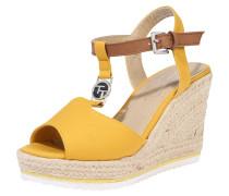 Sandale beige / senf