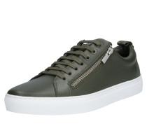 Sneaker 'Futurism Tenn' weiß / dunkelgrün