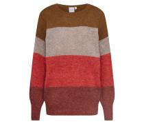 Pullover 'amara Ls6' mischfarben / rot