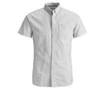 Hemd hellgrau / weiß