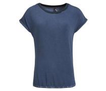 T-Shirt 'oliana Solid' taubenblau