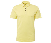 Poloshirt pastellgelb