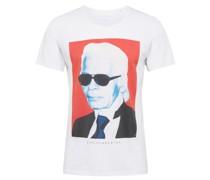 T-Shirt 'King' weiß