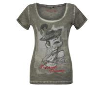 Shirt graumeliert / mischfarben