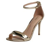 High-Heel Sandalette 'cally' gold