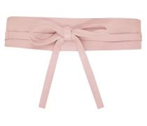 Leder-Taillengürtel zum Binden rosa
