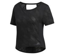 T-Shirt 'Burnout' schwarz