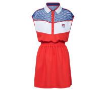 Kleid 'd-Reia Dress' rot / weiß