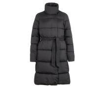 Wattierte Jacke schwarz