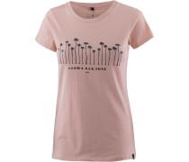 T-Shirt 'aloha Barcode' rosé