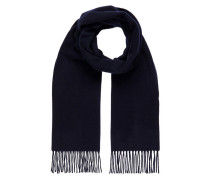 Schal 'Champ Solid Wool' navy