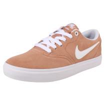 Sneaker 'Check Solar'' orange