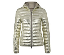 Steppjacke gold
