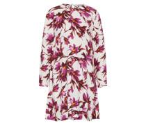Kleid 'Boise' lila / dunkelpink / weiß
