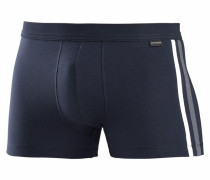 Boxer Shorts mit Kontrastpipings