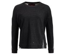 Sweatshirt 'hilda' schwarz / weiß