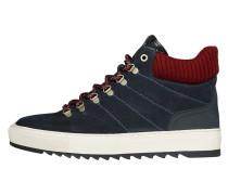 Boots nachtblau / rot / weiß