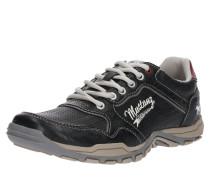 Sneaker anthrazit / blutrot