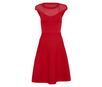 Kleid 'Rose Crepe Knit' feuerrot