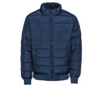 Steppjacke 'v-Warmest Jacket' nachtblau