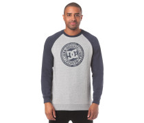 Circle Star Crew Sweatshirt blau / grau