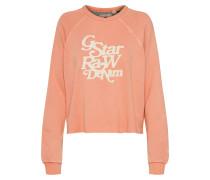 Sweatshirt 'Graphic 11' apricot