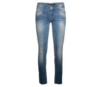 Used-Jeans aus Baumwollmix 'Riva' blau