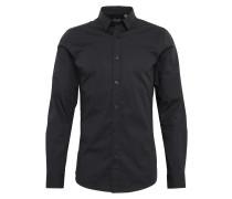 Hemd 'alfredo' schwarz