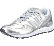 Sneaker 'wl574 B' silber