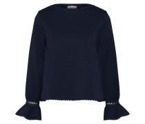 Bluse 'Longsleeve' blau