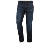5-Pocket-Jeans 'husao' blau / dunkelblau