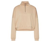 Sweatshirt 'hally' beige