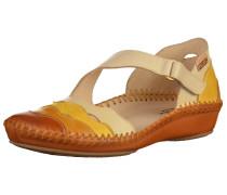 Sandalen beige / cognac / gelb