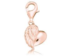 Charms-Einhänger 'Herzflügel Erc-Heartwing-R'