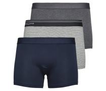3er-Pack Boxershorts grau / blau