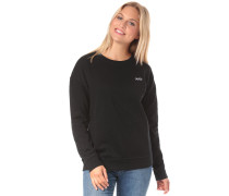 'Lorraine Crew' Sweatshirt schwarz