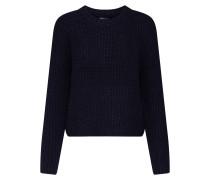 Pullover 'onlfiona L/S Pullover Knt' schwarz