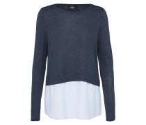 Pullover 'new Oxford' dunkelblau / weiß