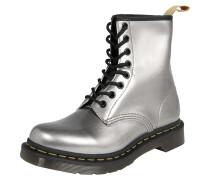 Stiefel '8 Eye Boot 1460 Vegan' silber