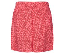 Shorts rot / weiß
