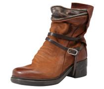 Boots 'nova17' cognac / dunkelbraun