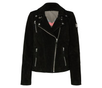 Velourlederjacke 'Bikerprincess'