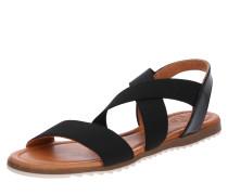 Sandale 'Beta' beige / schwarz